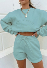 2020 Styles Women Fashion INS Styles Fashion Tracksuit Two Piece Suit