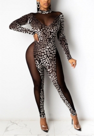 2020 Styles Women Fashion INS Styles Mesh Jumpsuit